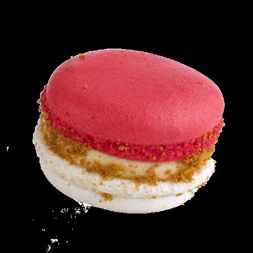 Lotus Crumb Macaron