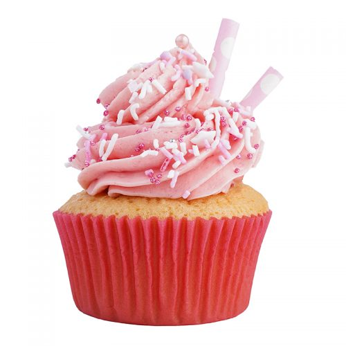 Strawberry Milkshake Cupcake