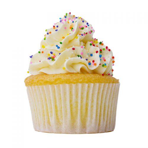 Vanilla Sprinkle Cupcake