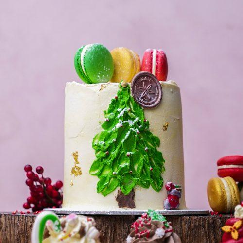Christmas Cake 12cm