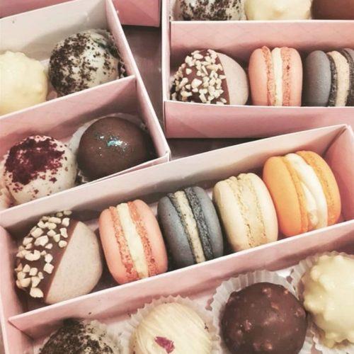 Macaron & Truffle Box